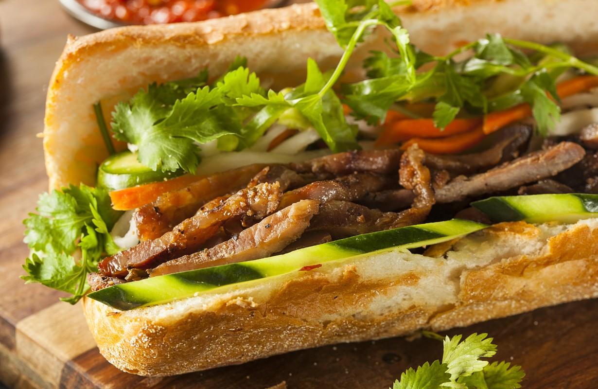 Vietnamese Pork Banh