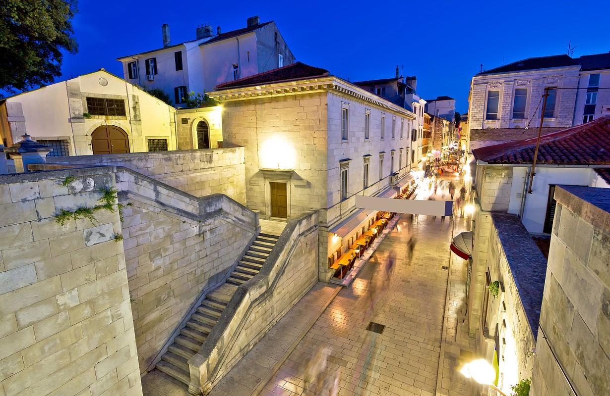 View of historic Kalelarga street