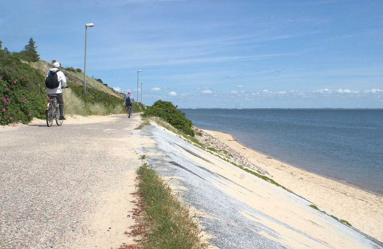 cycling on the island Sylt