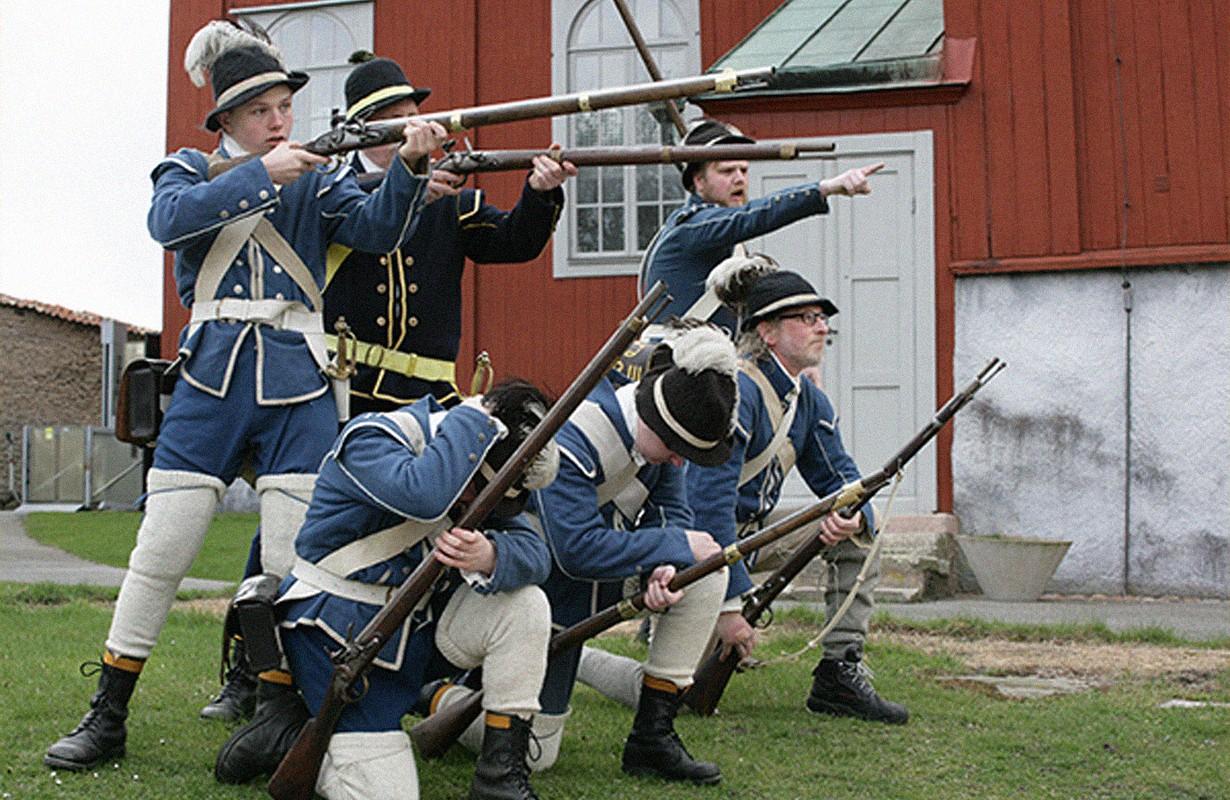 soldater från Karlskrona