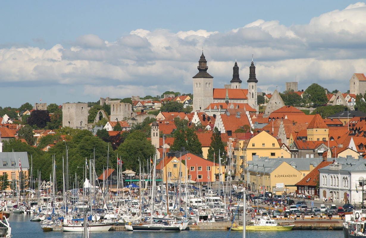 Hanseatic town of Visby, Gotland