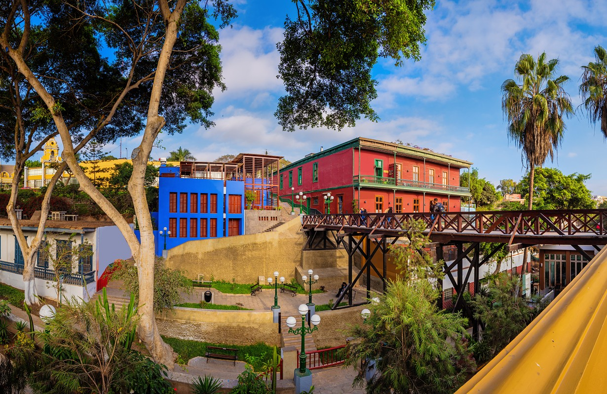 Bridge of Sighs - Lima, Peru