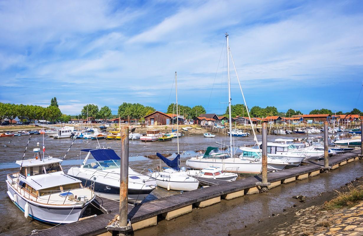Oyster port of La Teste, Bassin d'Arcachon, France