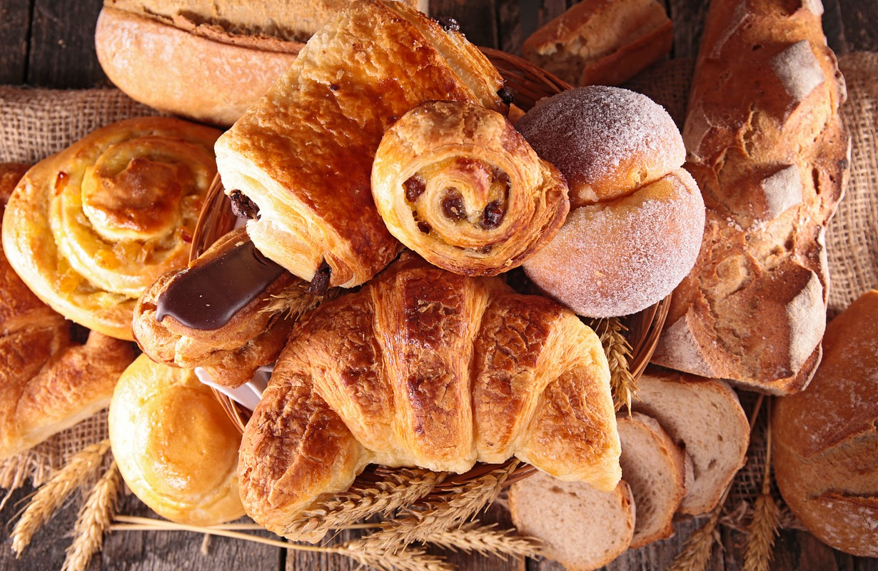 assortment of pastry
