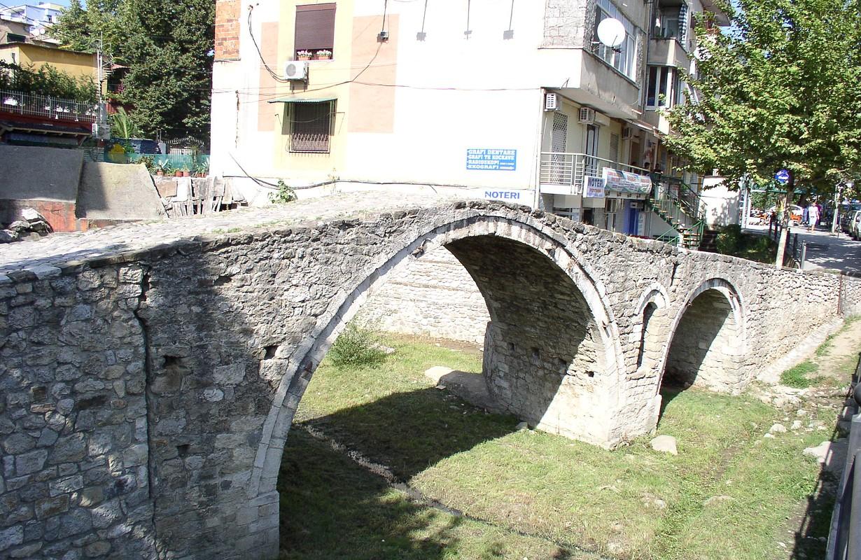 Tanner's bridge in Tirana, Albania