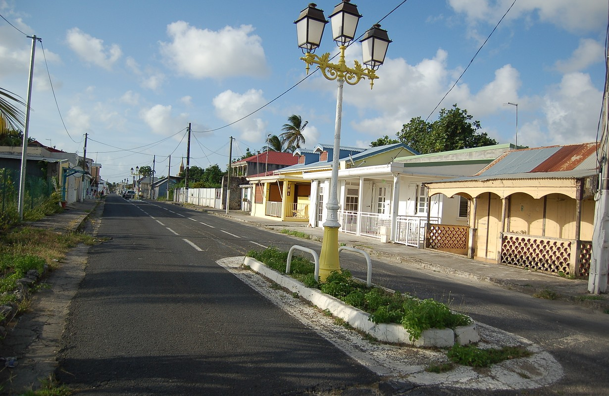 Streets of Port-Louis, Guadeloupe