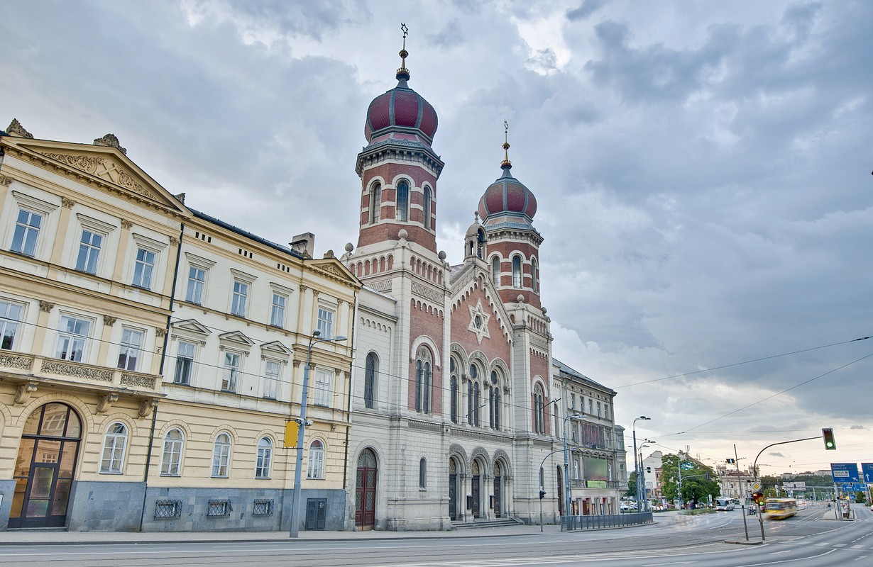 Old Synagogue in Pilsen, Czech Republic
