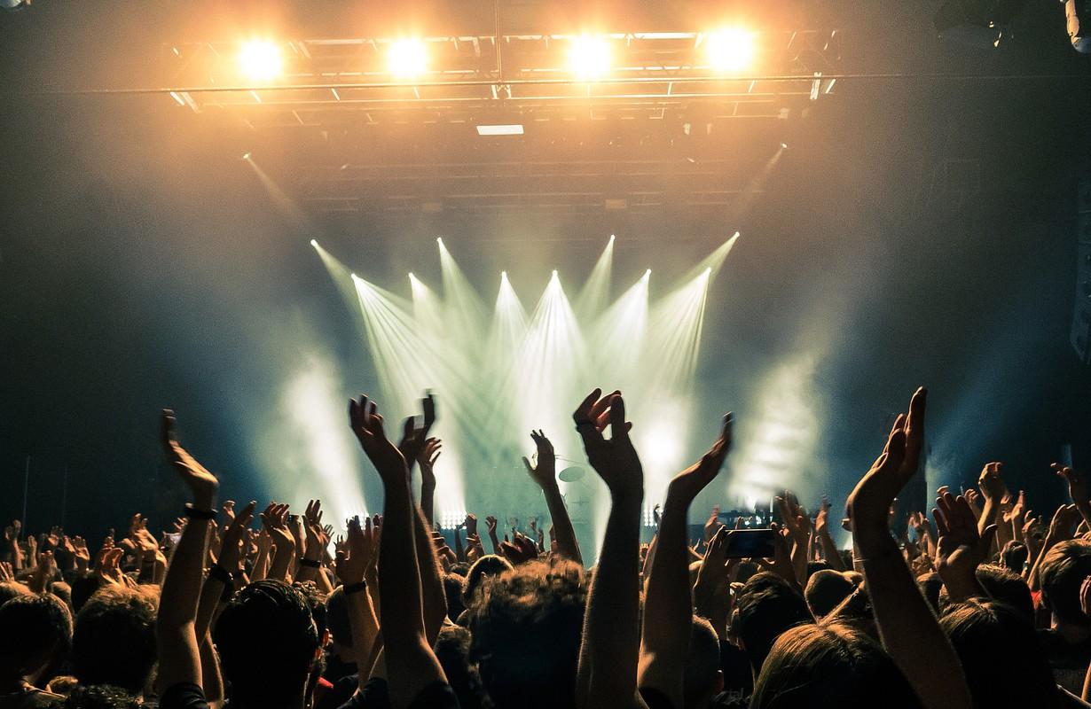 Crowd attending a concert - Atlanta, Georgia