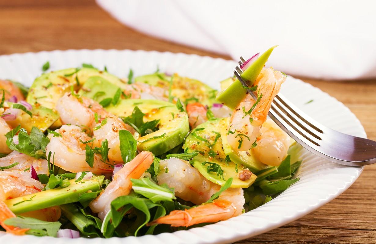 Shrimp salad - Houston, Texas