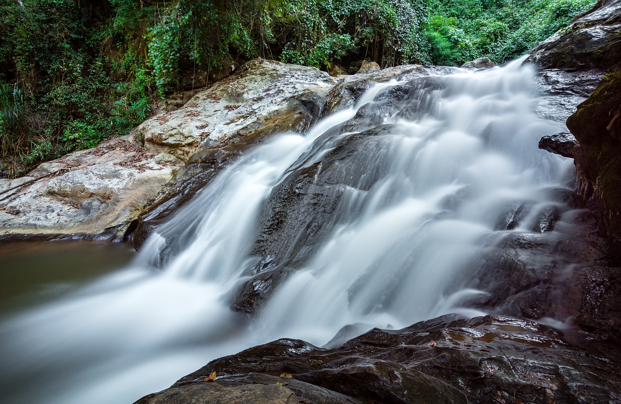 Mae Sa waterfall in Doi Suthep-Pui National Park, Chiang Mai