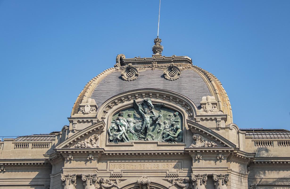Fine Arts Museum (Museo de Bellas Artes) - Santiago, Chile - Picture