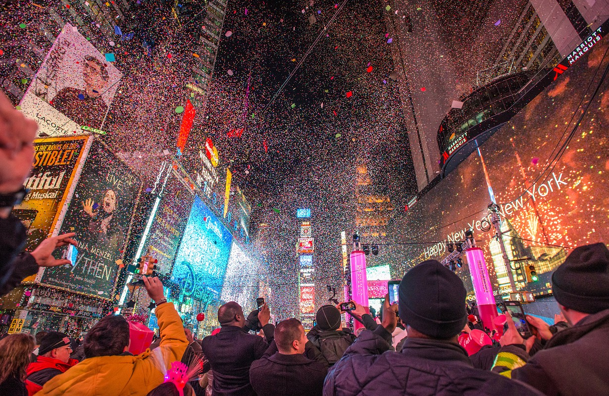 Times Square at New Year's Eve