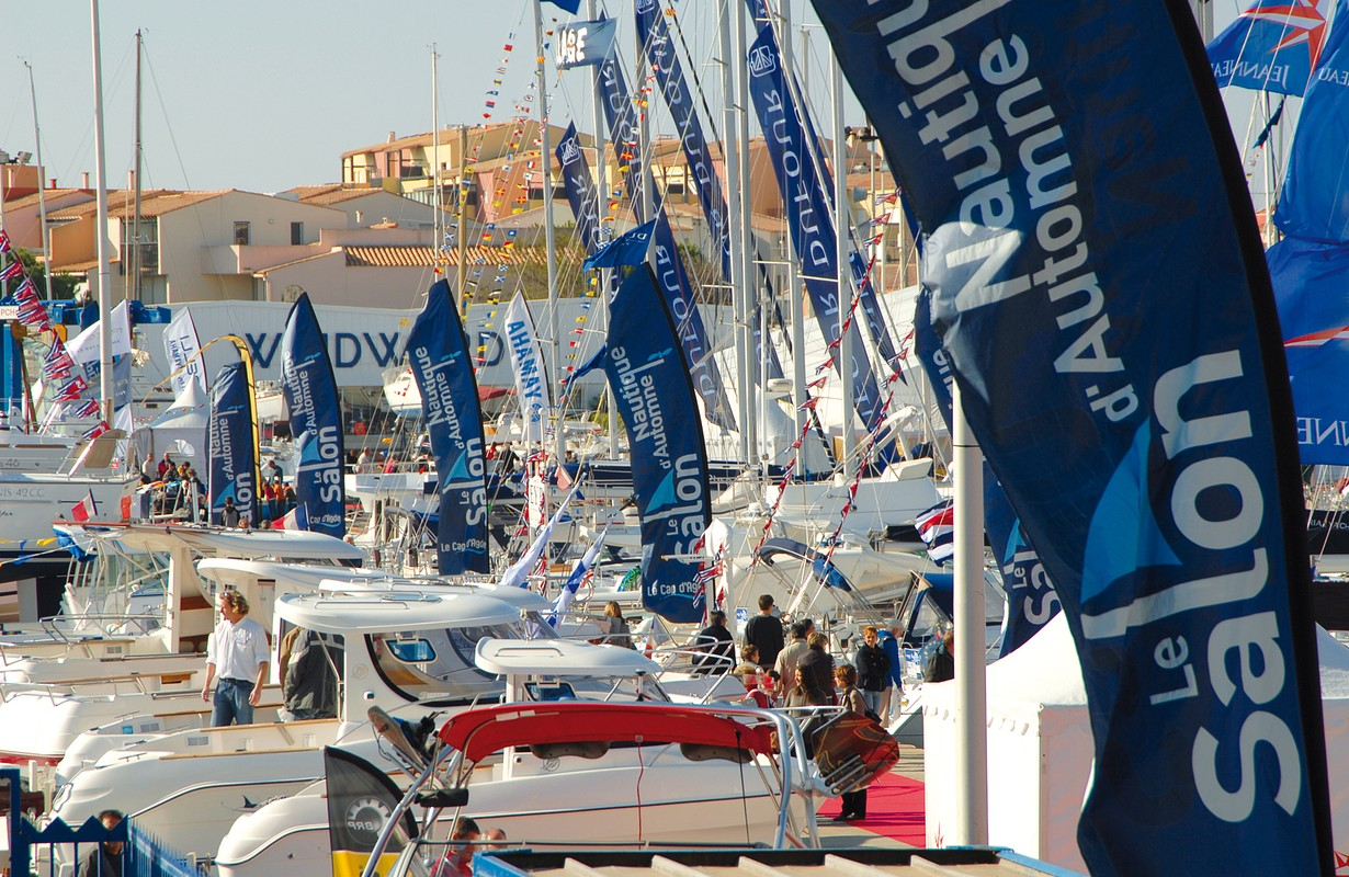 Cap d'Agde, automn nautic fair