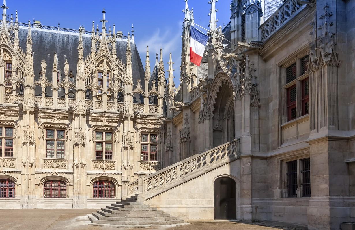 Palais Justice Rouen France