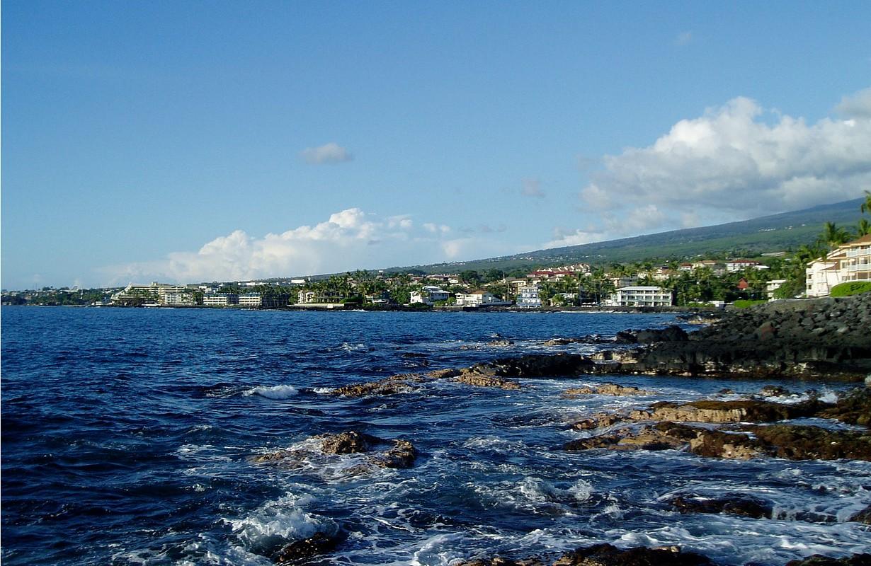 Kailua-Kona and the Kona Coast — on the Big Island of Hawai?i.