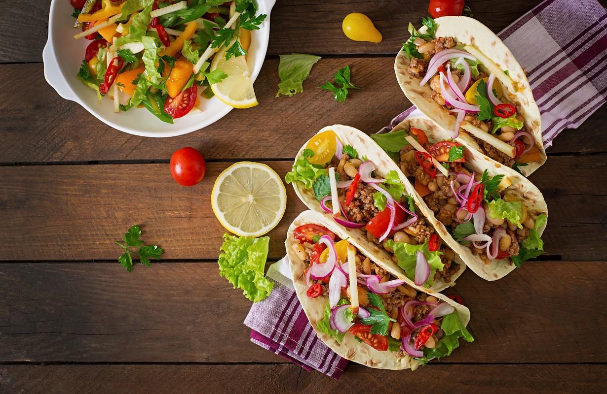 Mexican tacos - Houston, Texas