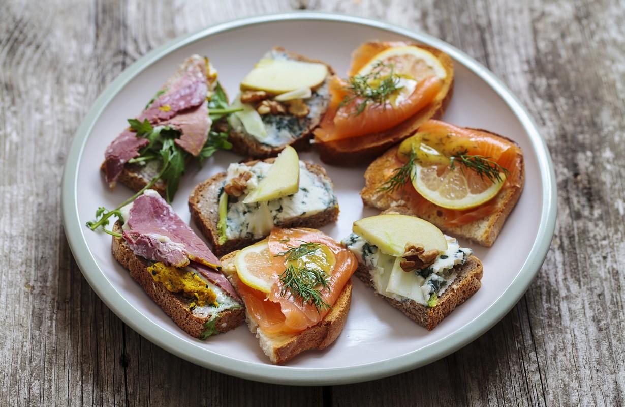 Scandinavian sndwiches