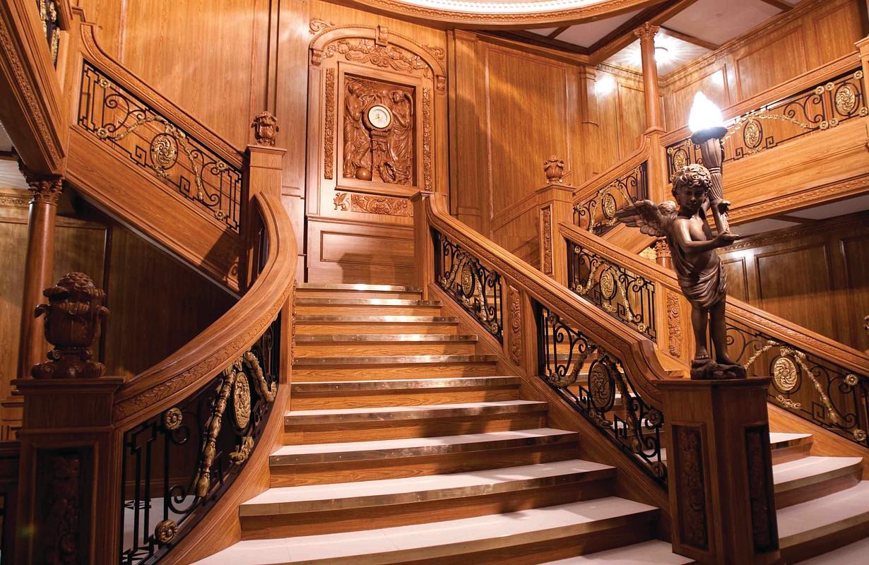 Titanic Exhibition Staircase