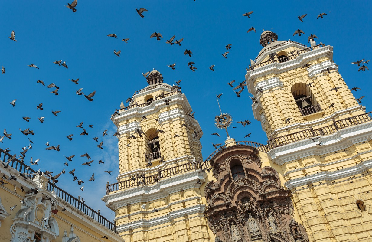 San Francisco church - Lima, Peru