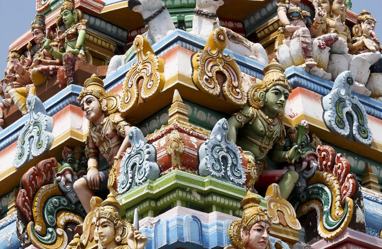 Kapaleeswarar temple in Chennai, Tamil Nadu province, India