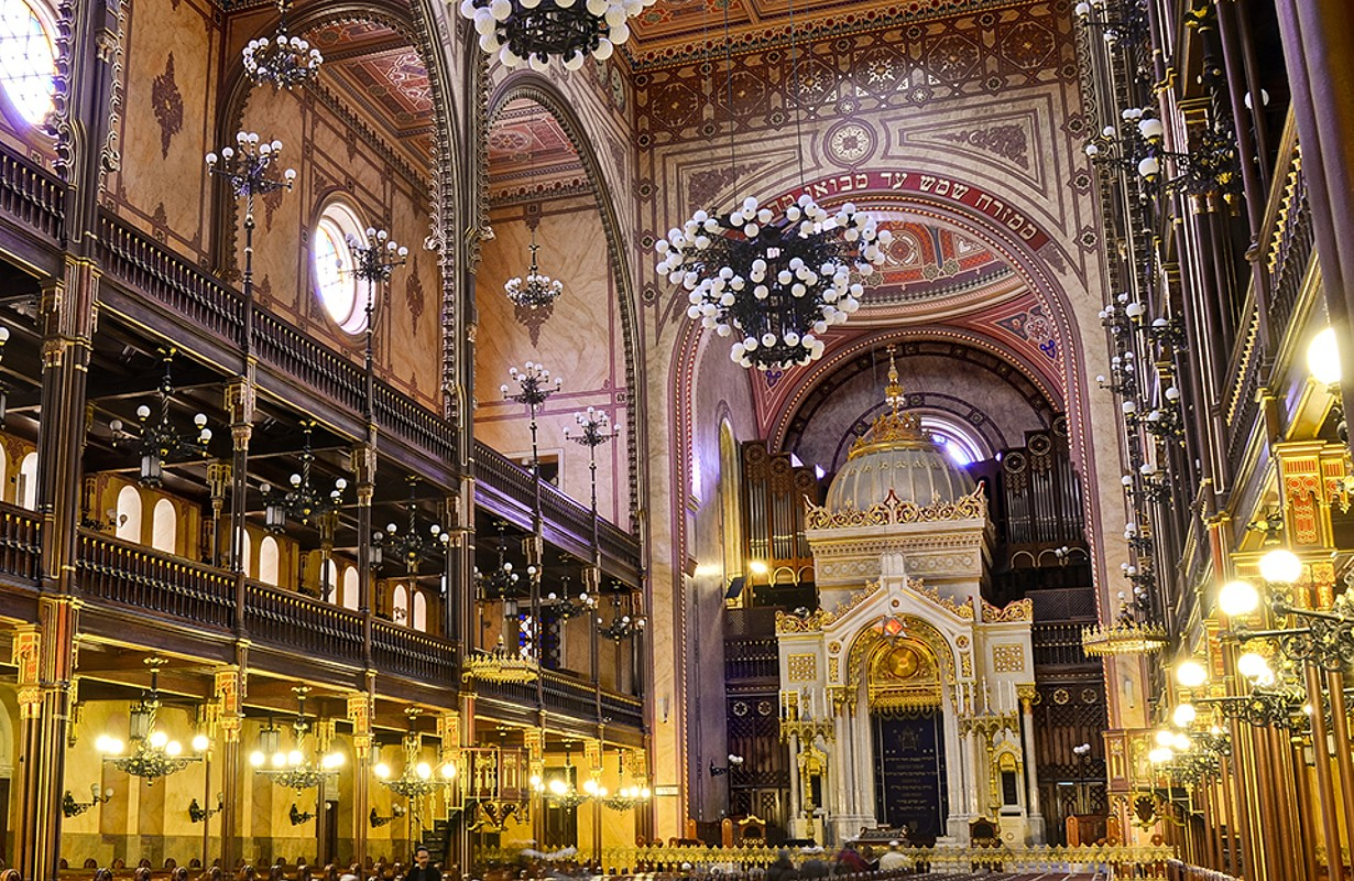 Great Synagogue Interior