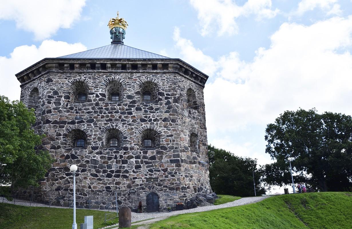 Old fortress (skansen kronan) from Gothenburg Sweden