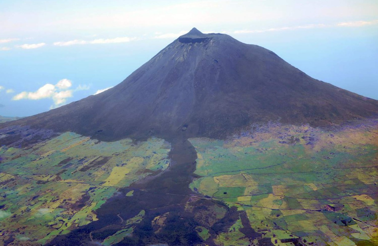 Volcanic Landscape of Pico Island, The Azores