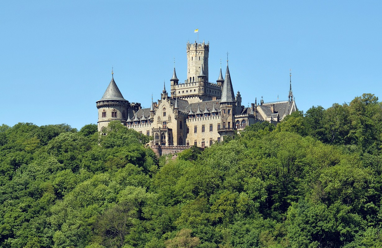Marienburg Castle close to Hannover
