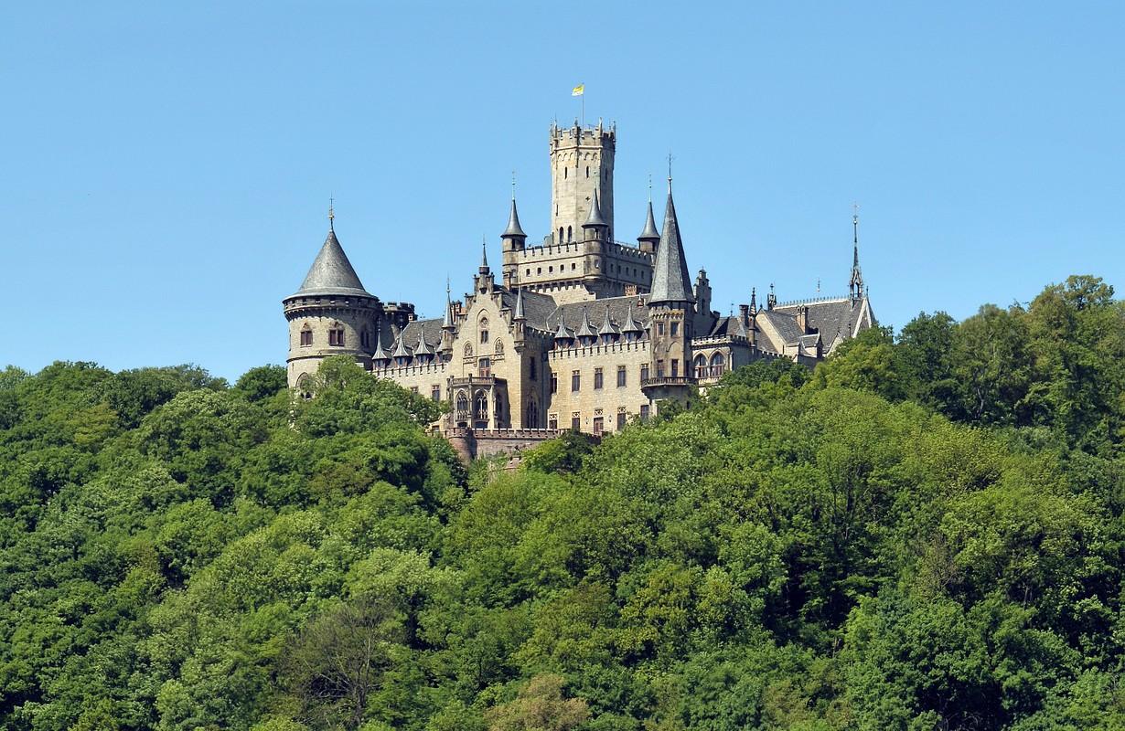 Marienburg Castle close to Hannover