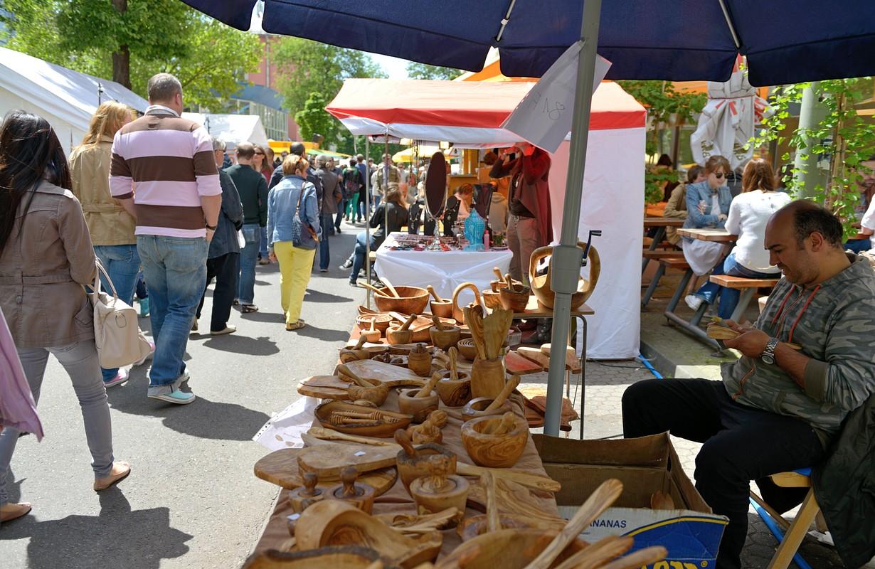 Famers Market in Frankfurt-Bornheim