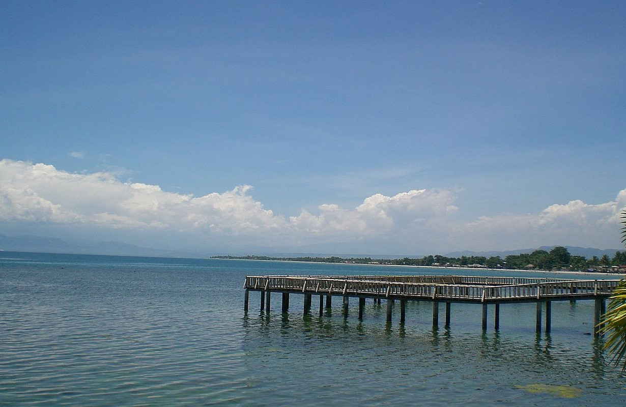 Opol beach front facing Macajalar Bay