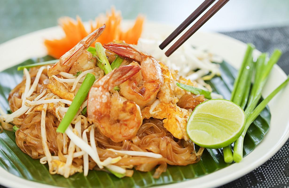 Thai style noodles - Houston, Texas