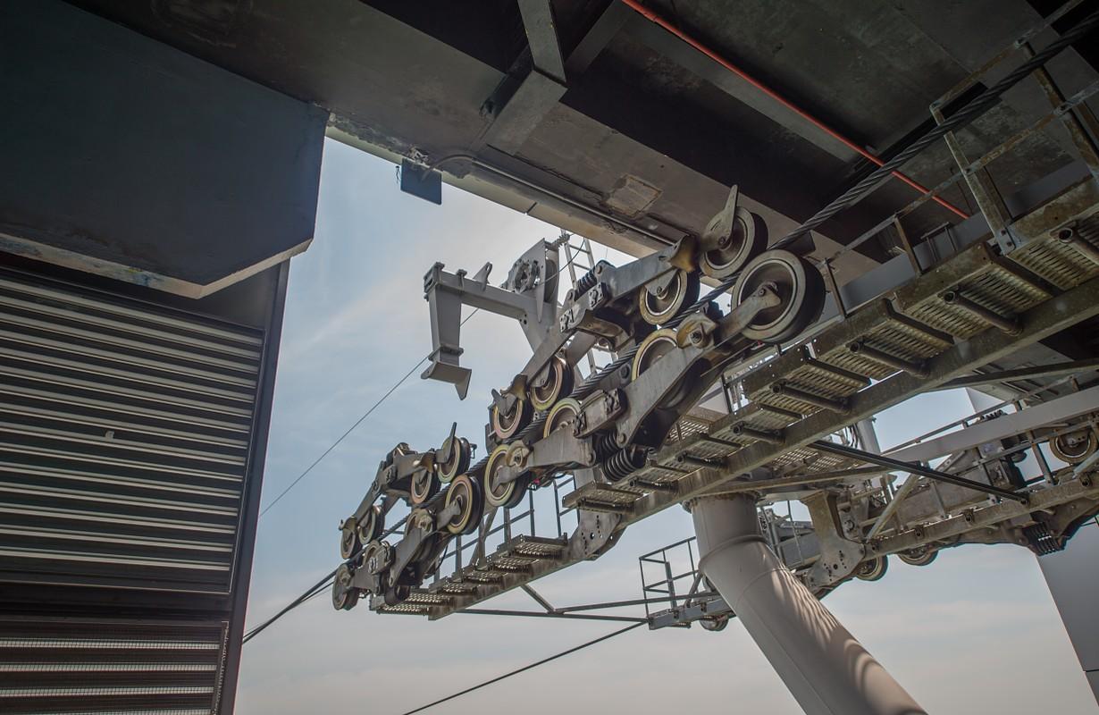Cable car machine - San Francisco, California