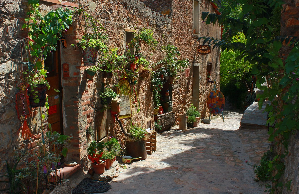 Castelnou, one of the most beautiful villages of France