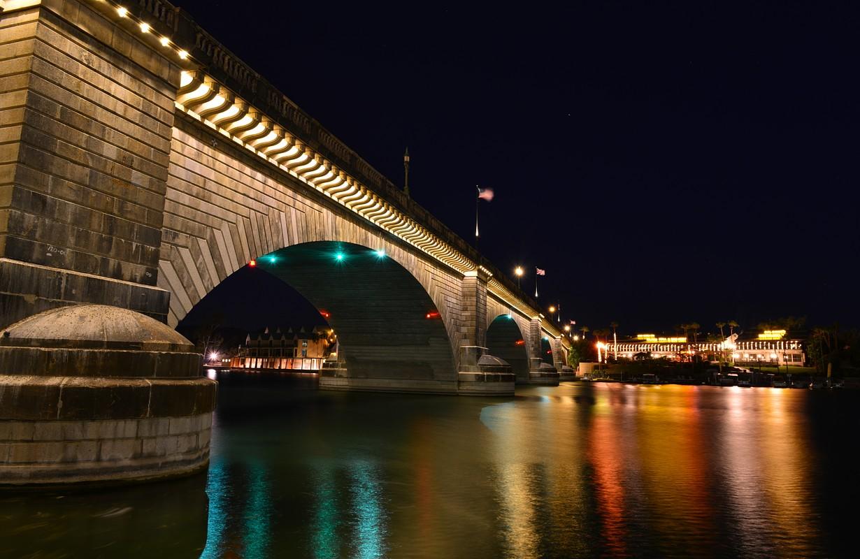 London Bridge on a summer night
