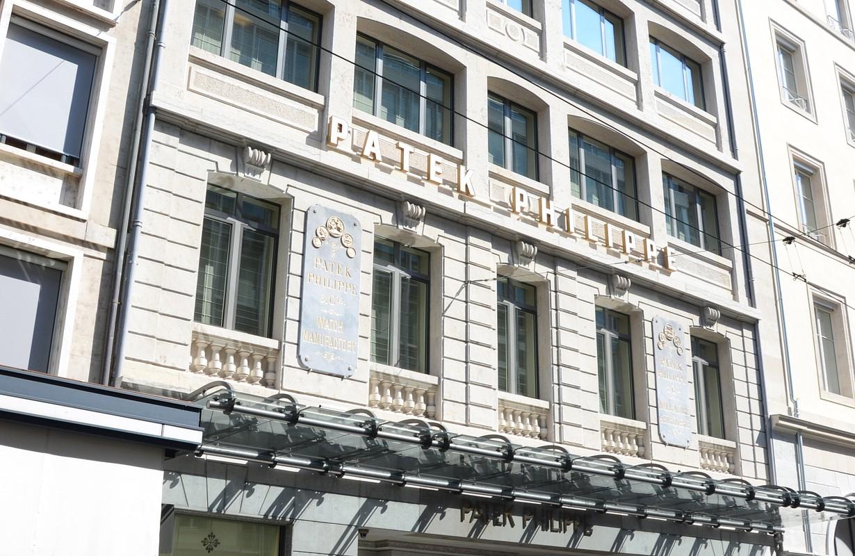 Immeuble Patek & Philippe, Rue du Rhône 41, Genève