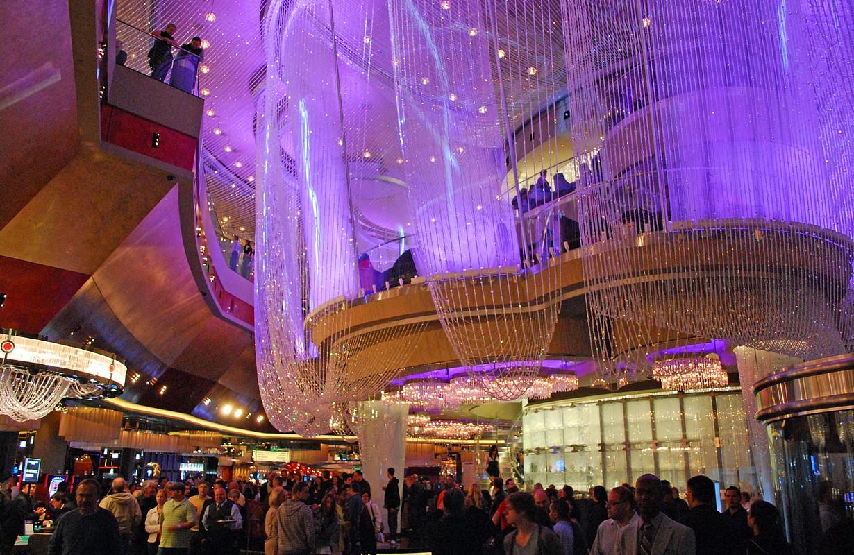 The Chandelier in the Cosmopolitan Las Vegas
