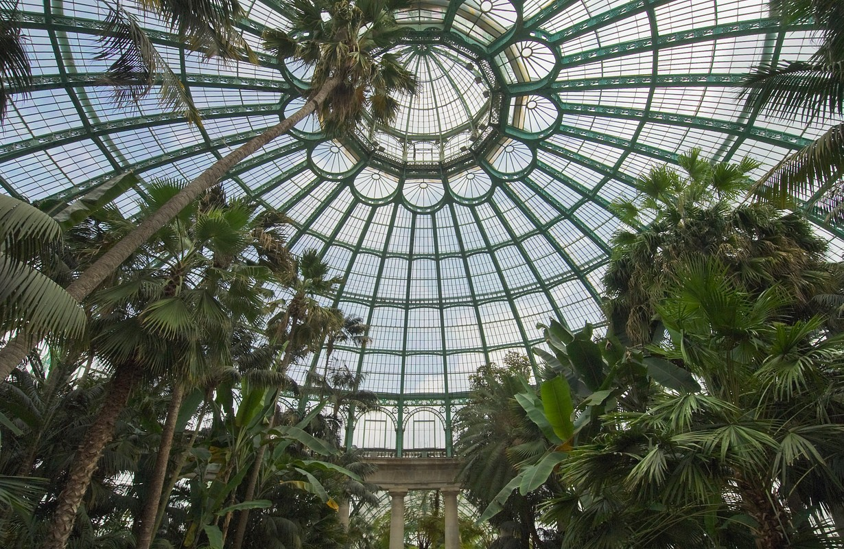 Visit the Laeken Royal Greenhouses in Brussels, Brussels