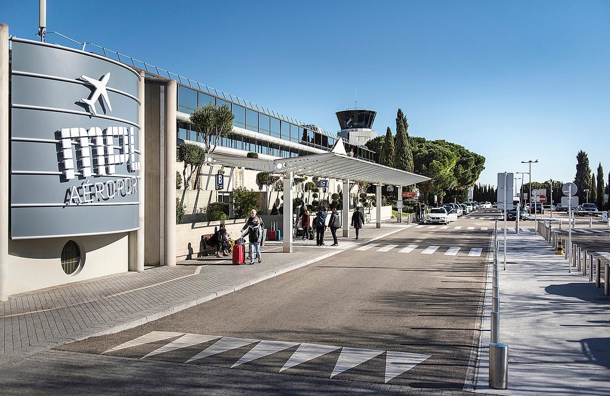 Montpellier, Aéroport Montpellier Méditerranée