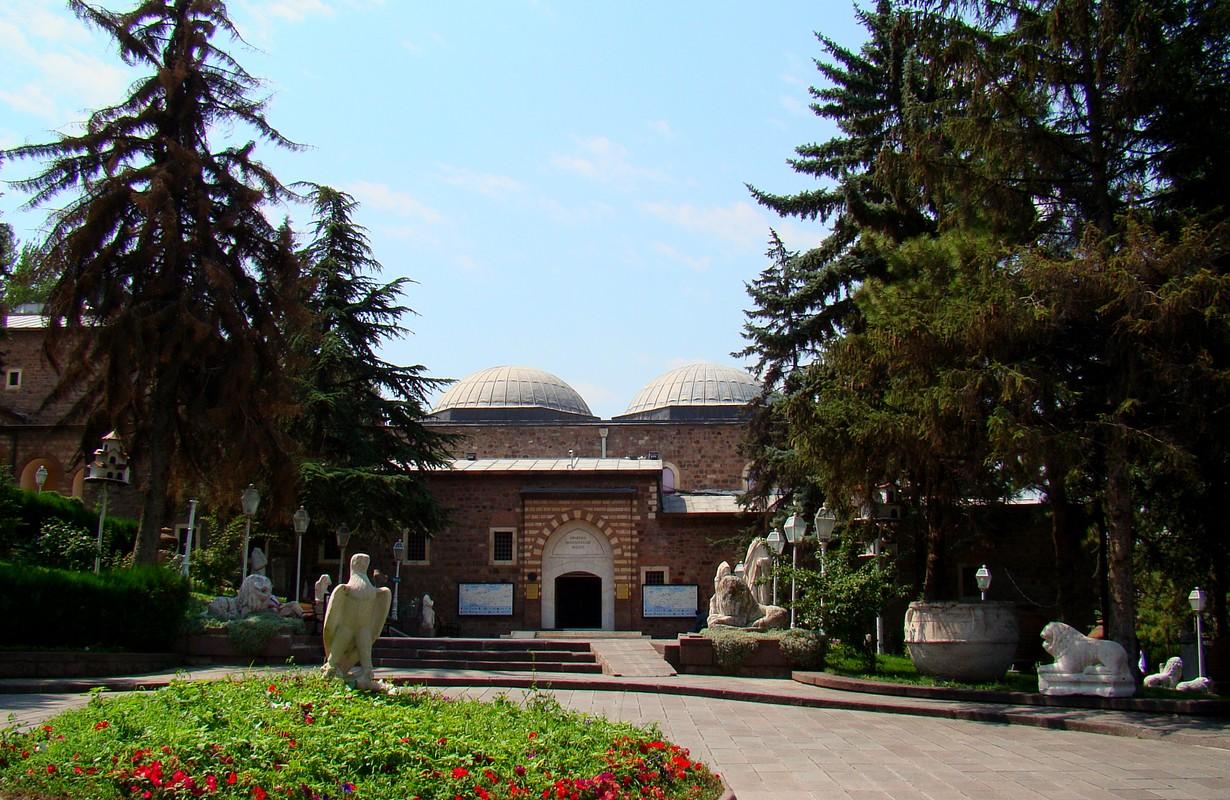 The Museum of Anatolian Civilisations in Ankara