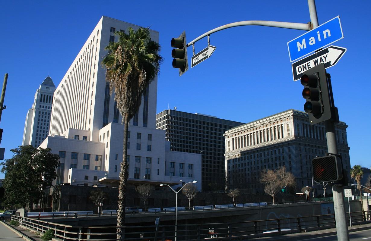 Main street L.A