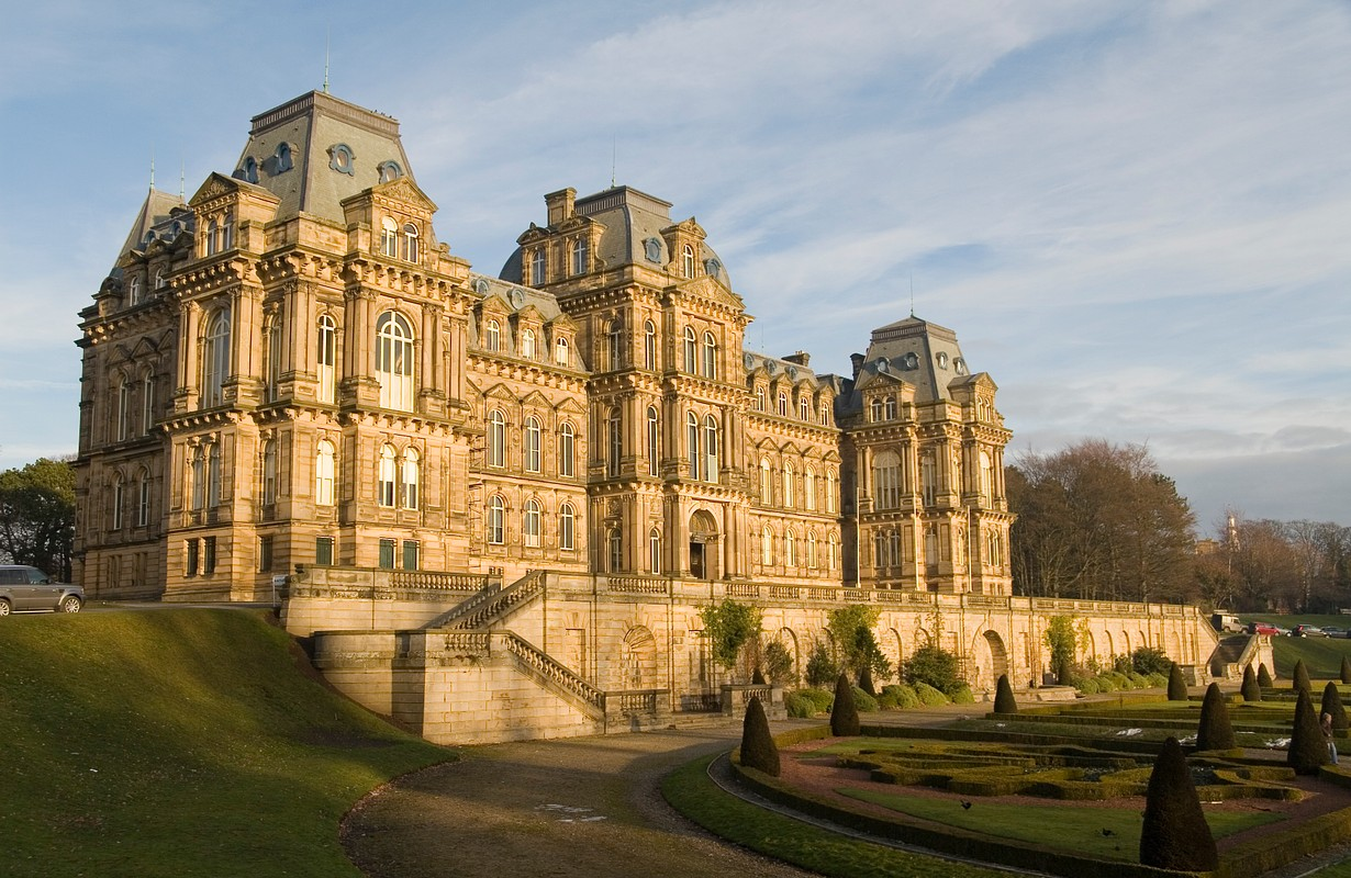 The Bowes Museum in Barnard Castle, County Durham.