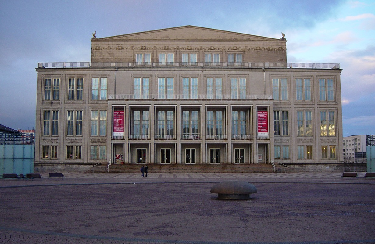 Opera house in Leipzig