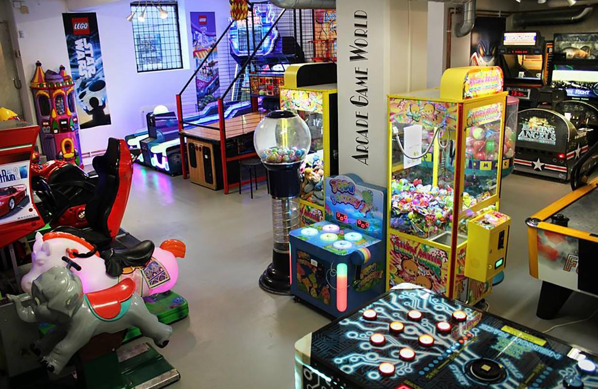 Arcade Game World