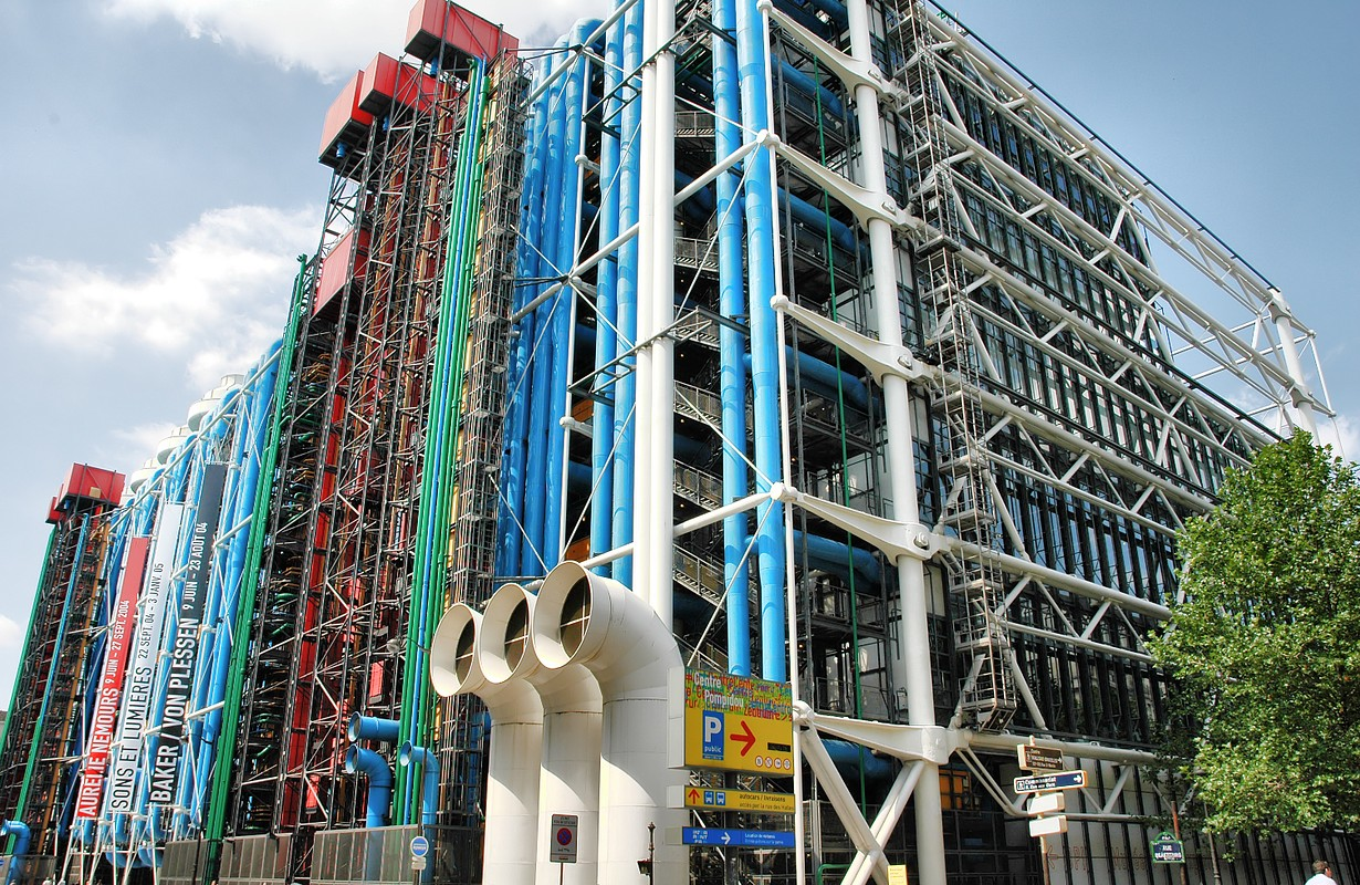Pompidou Center - Paris