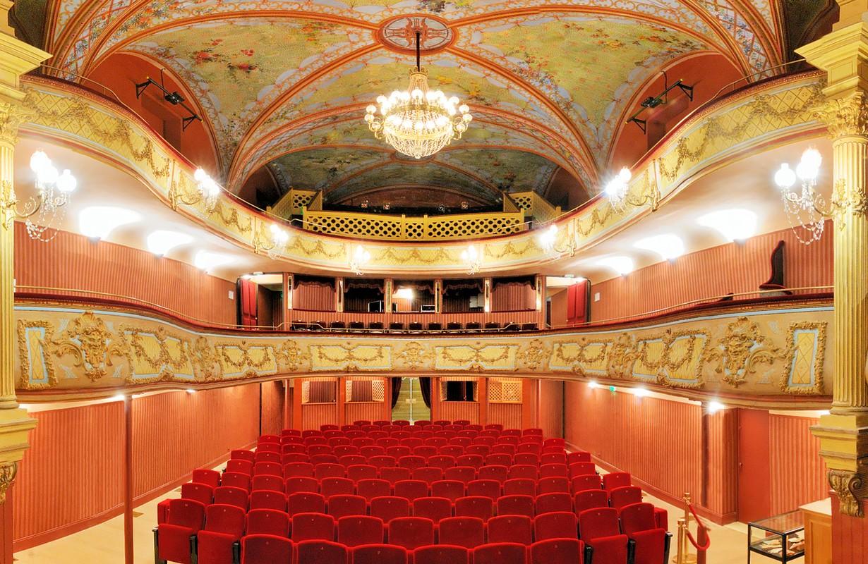 Pézenas, theatre 19th c.