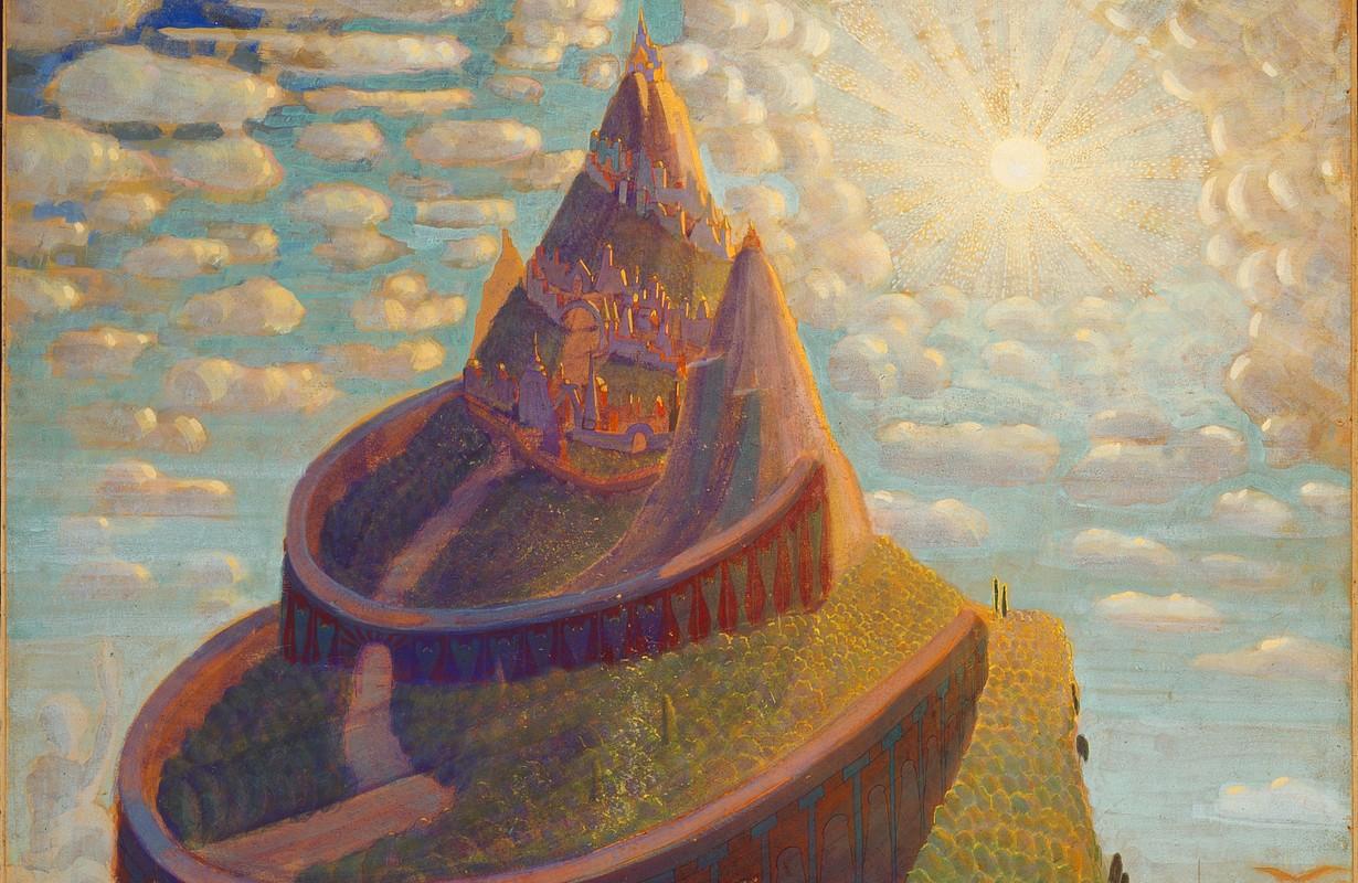 ciurlionis painting art nouveau