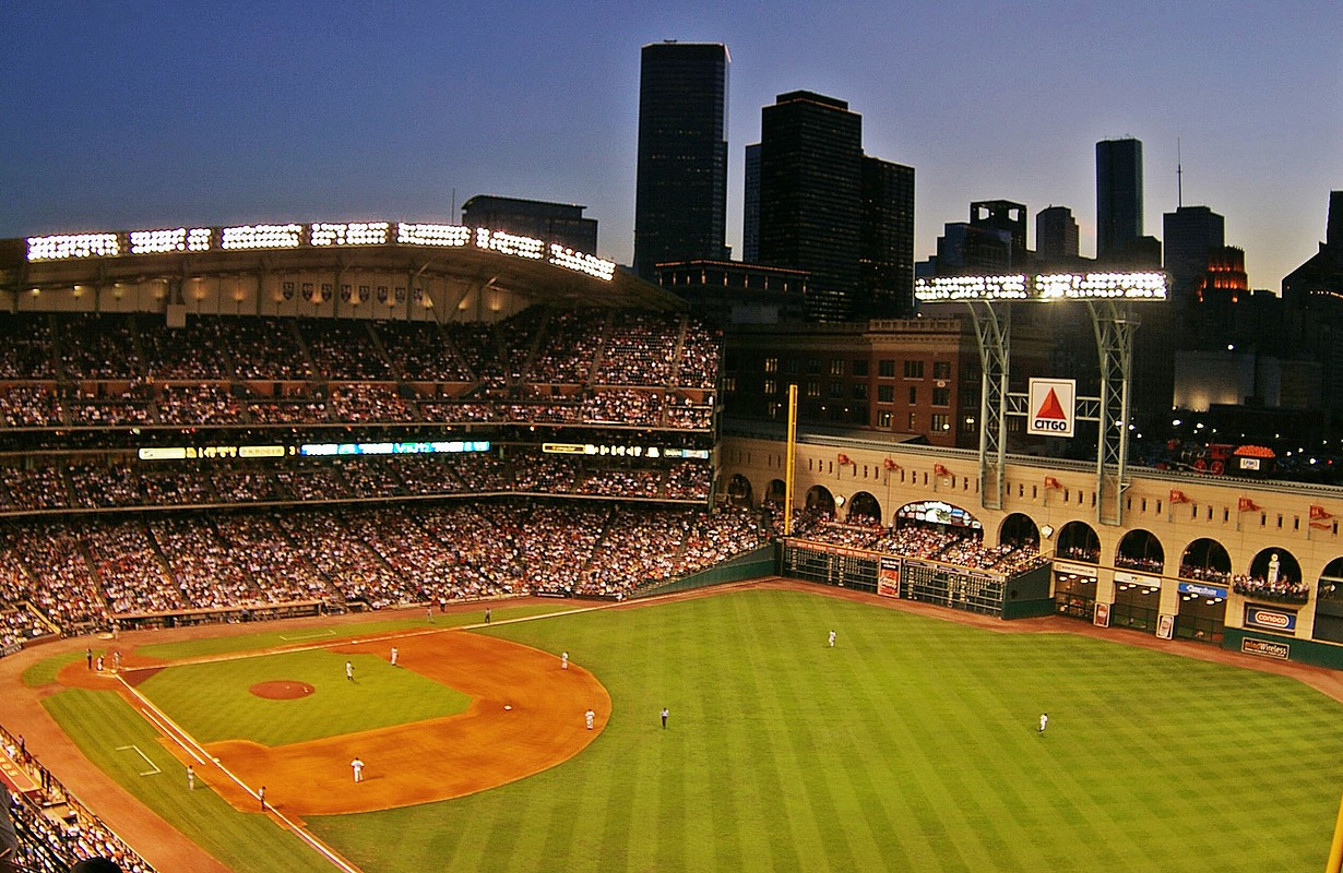 Minute Maid Park in Houston - Texas, USA