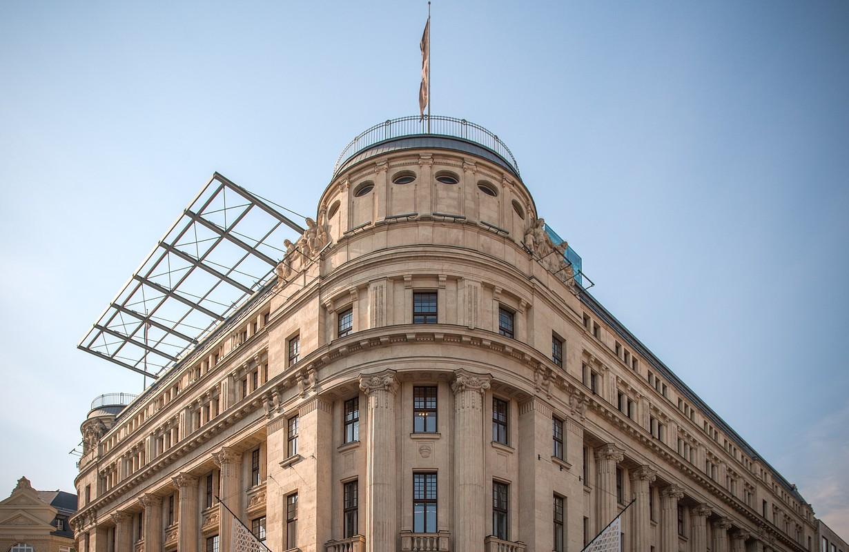Building at Váci utca