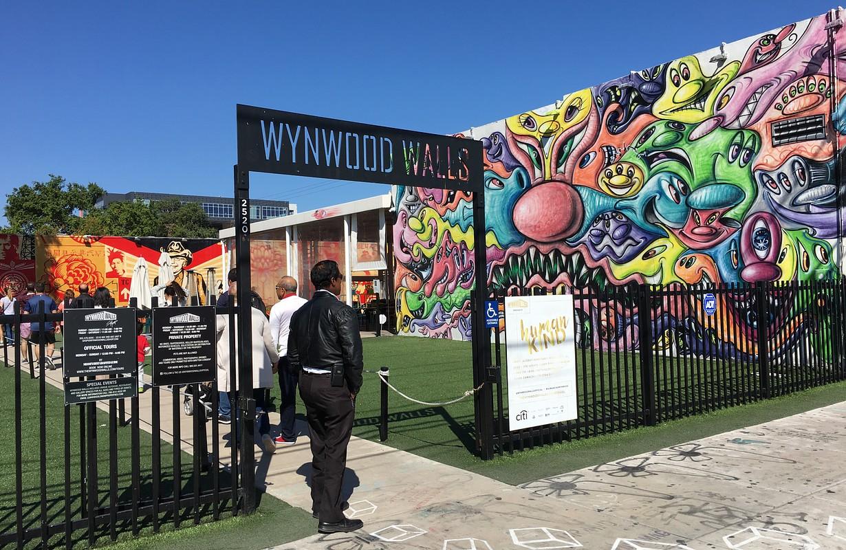 Entrance to Wynwood Walls